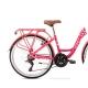 Romet Panda Rower dziecięcy 24 cale różowy