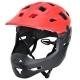 ProX Cage Kask fullface czarno czerwony