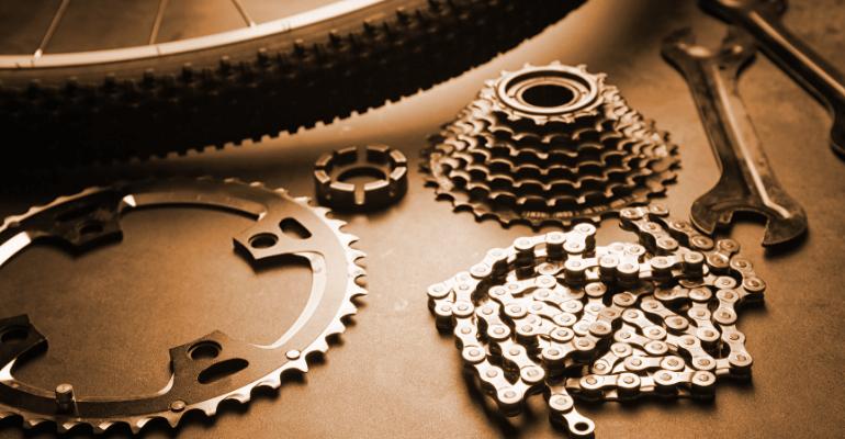 części rowerowe dostępne w sklepie rowerowym