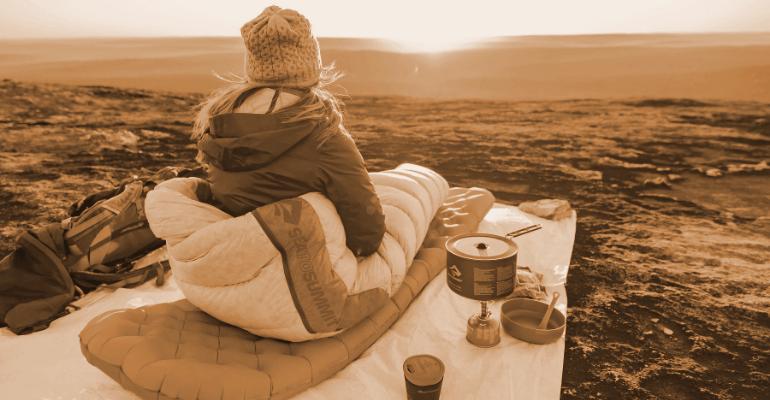 camping na świeżym powietrzu