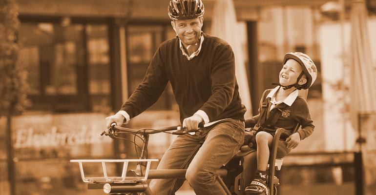 fotelik rowerowy dla dziecka montowany na bagażnik roweru