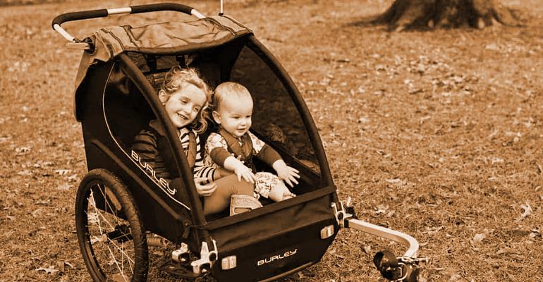 przyczepka rowerowa dla dzieci lub pupila