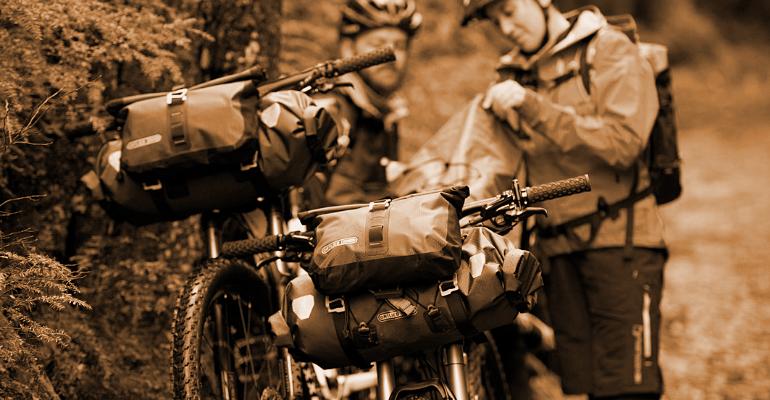 torba na rower dla miłośników bikepacking'u i wypraw rowerowych