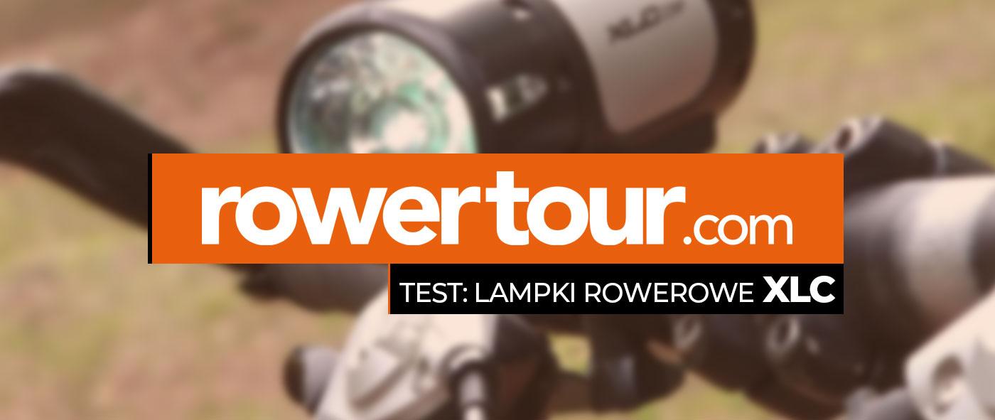 Rowertour testuje lampki rowerowe XLC