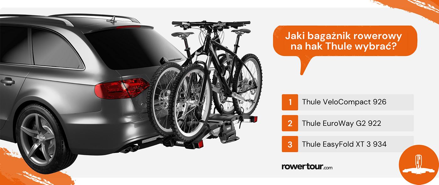 Jaki bagażnik rowerowy na hak Thule wybrać?