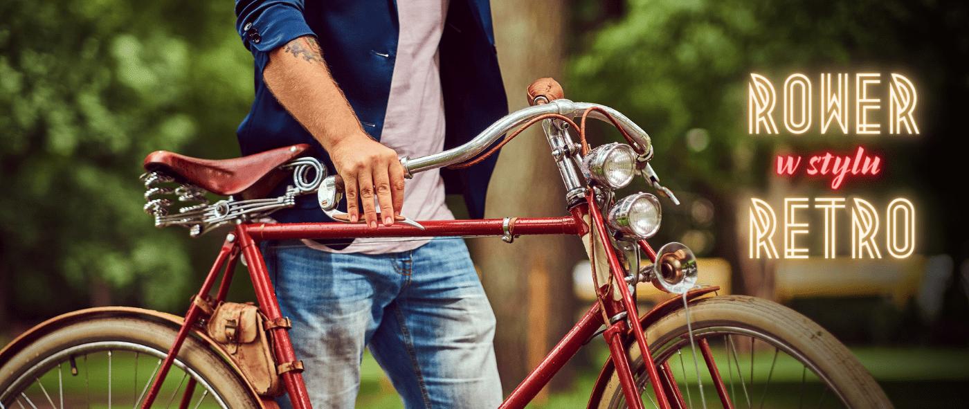 Rower w stylu retro