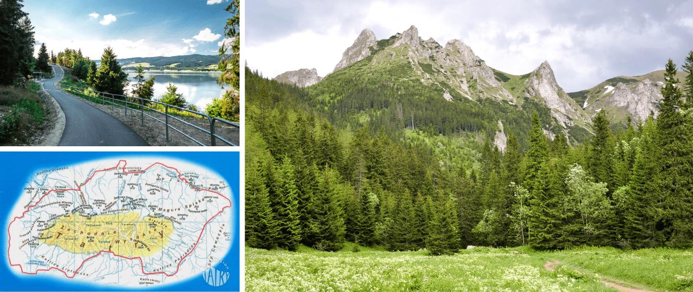 Szlak Wokół Tatr wiedzie przez malownicze tereny