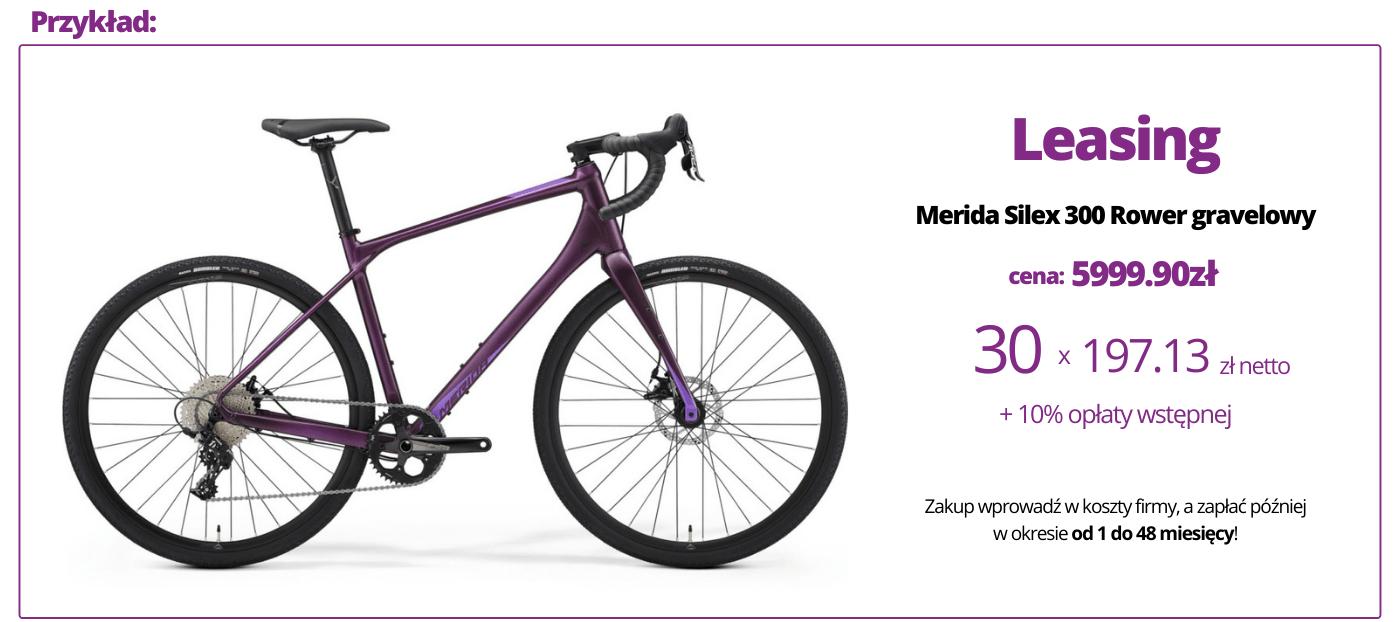 przykładowy wyliczenie kosztów leasingu na rower