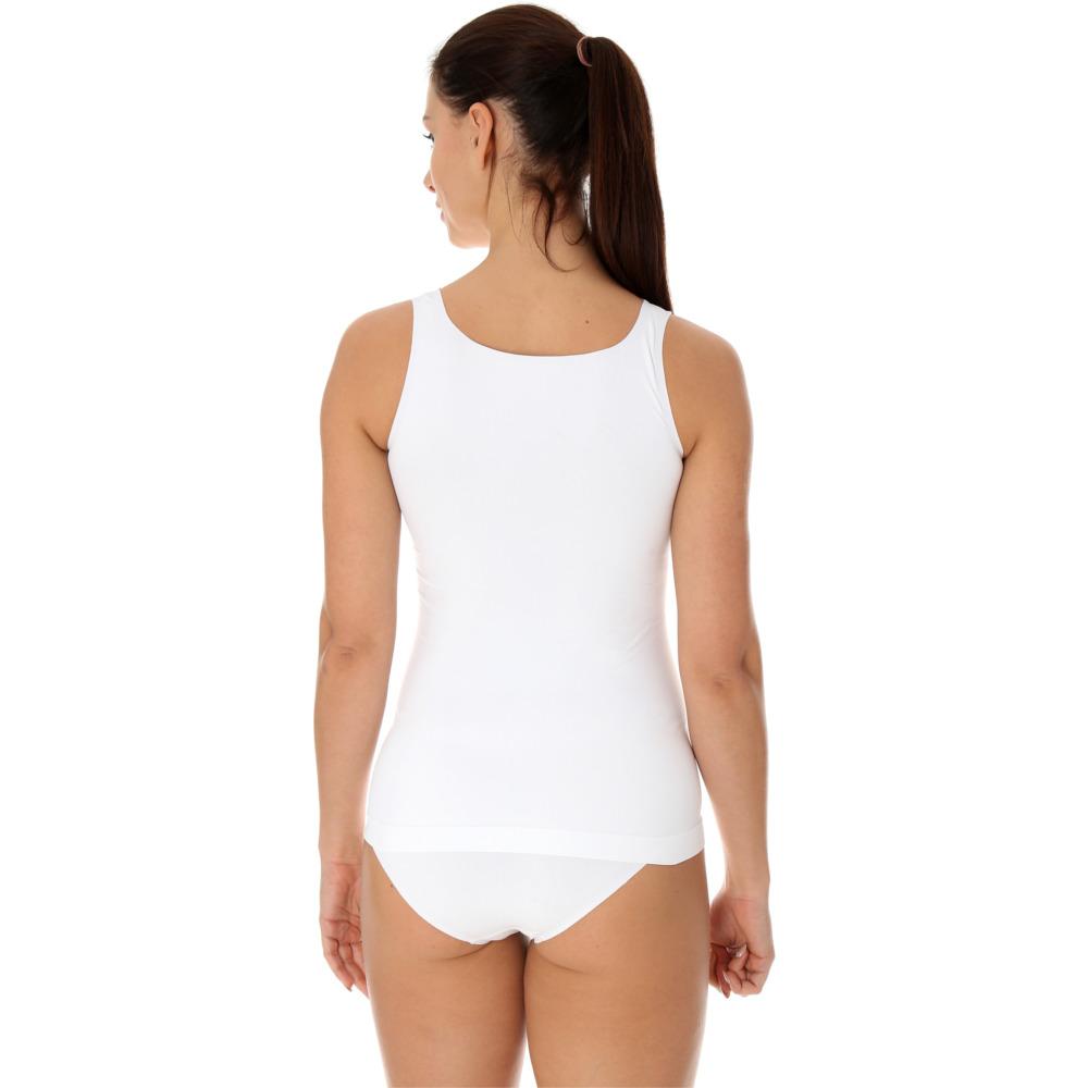 a52f0eedb1cad2 Brubeck Camisole Comfort Cool Koszulka damska na ramiączkach biała ...