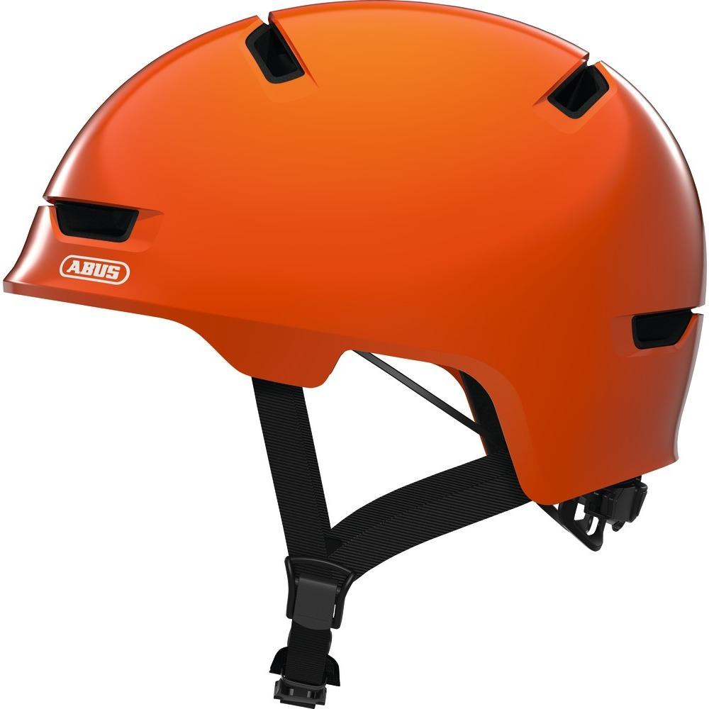 abus scraper kid 3 0 kask rowerowy dzieci cy shiny orange najlepsze ceny. Black Bedroom Furniture Sets. Home Design Ideas